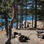 Campsites for Anglers - Lower Blue Lake