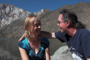 Kimberly and Patrick Wilkes at Convict Lake