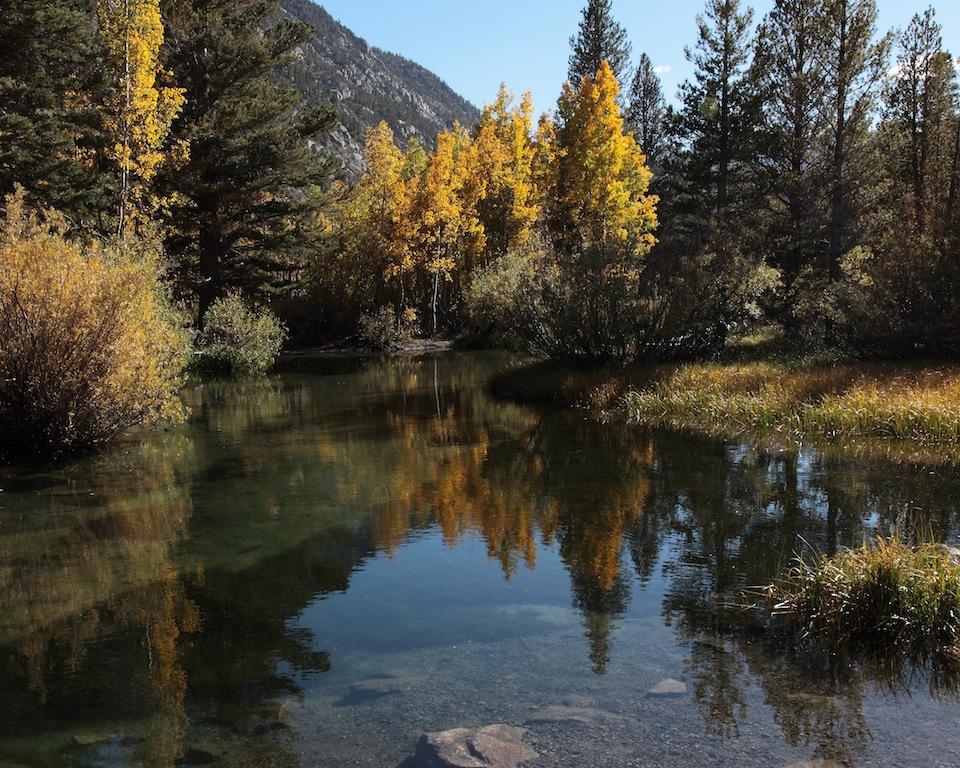 Bishop Creek from North Lake Road