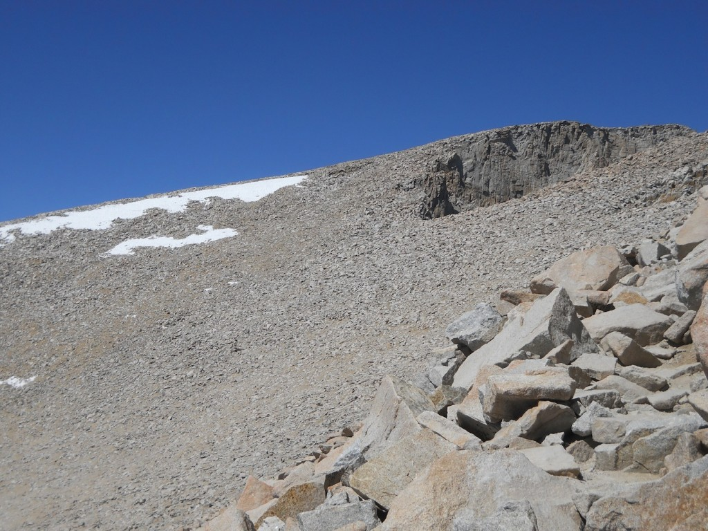 The summit of Mount Whitney