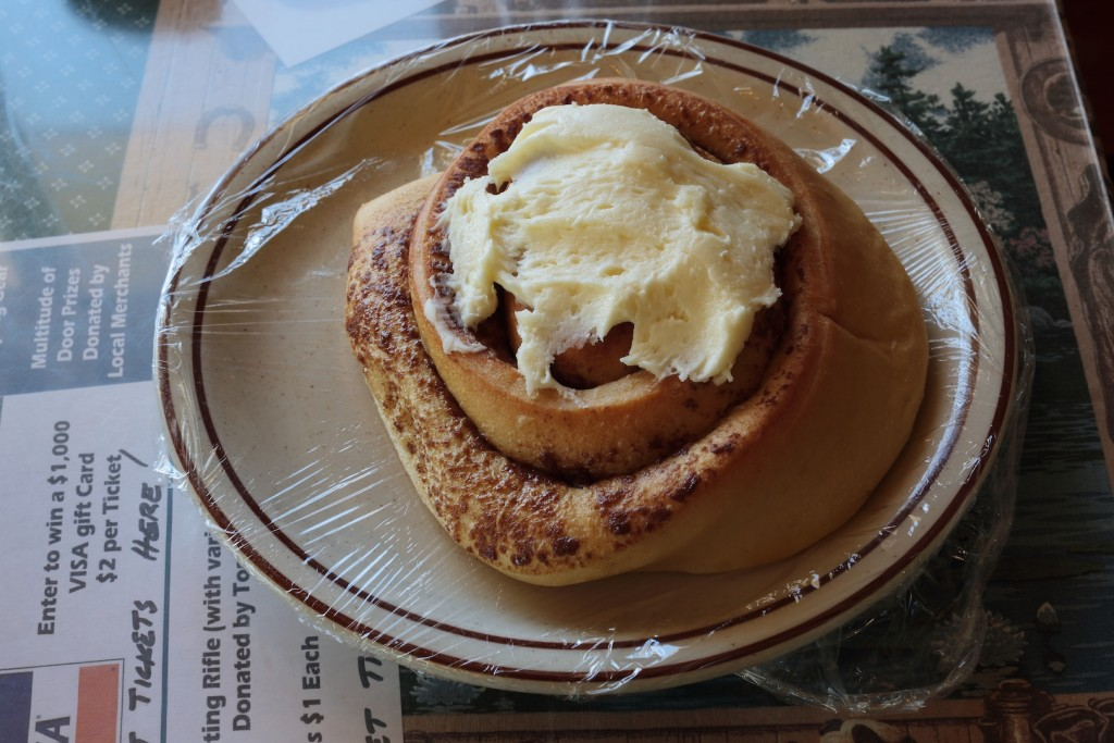 Cinnamon Roll. Getting hungry yet?
