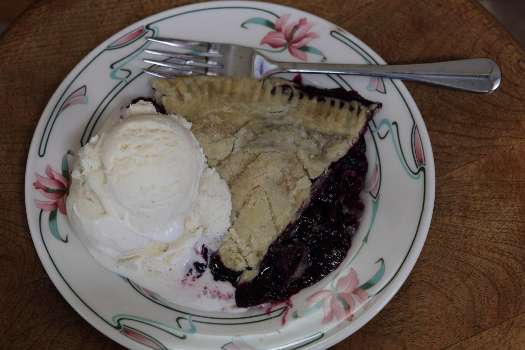 Pie in the Sky Cafe's Boysenberry Pie