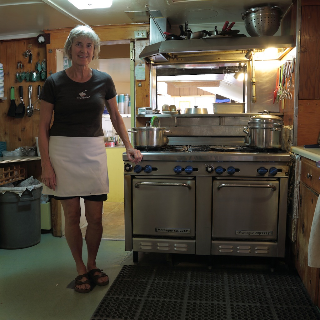 Sue bakes more than 3,300 pies every year!