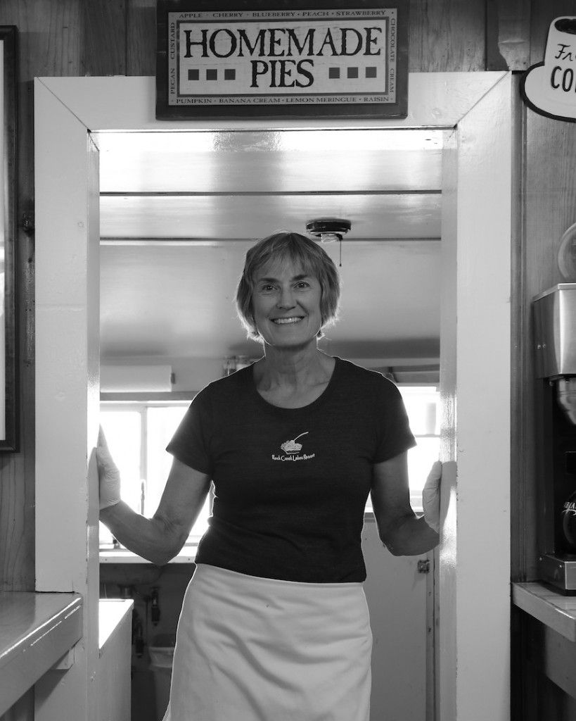 Sue King of Pie in the Sky Cafe