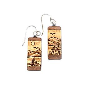 Mono Lake Earrings