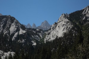 View from Whitney Portal Road