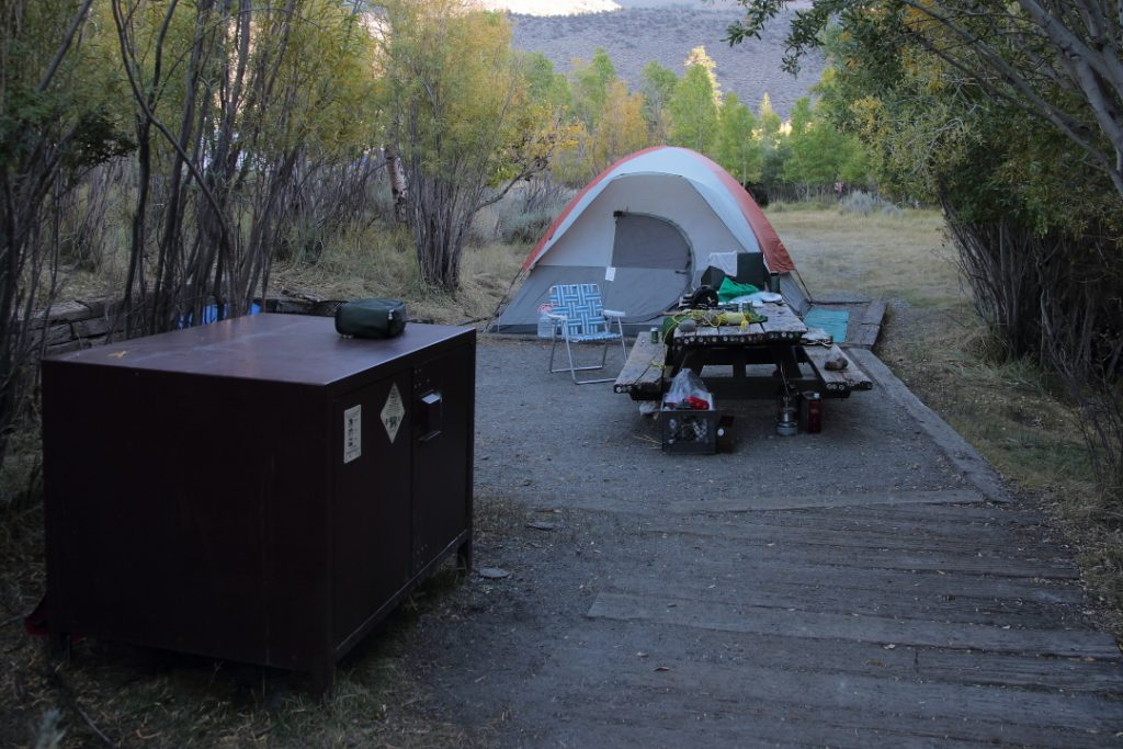 Convict Lake Campground #41