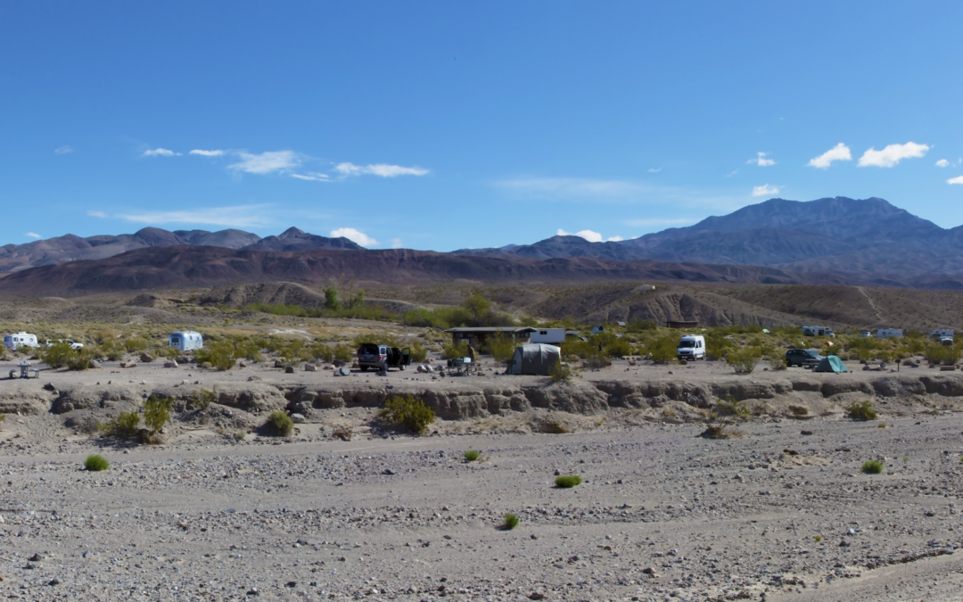 Death Valley Camping – Which Campgrounds Have The Most Campsites With Privacy?