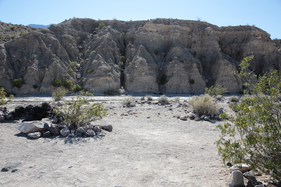 Mesquite Springs Campground Space 27
