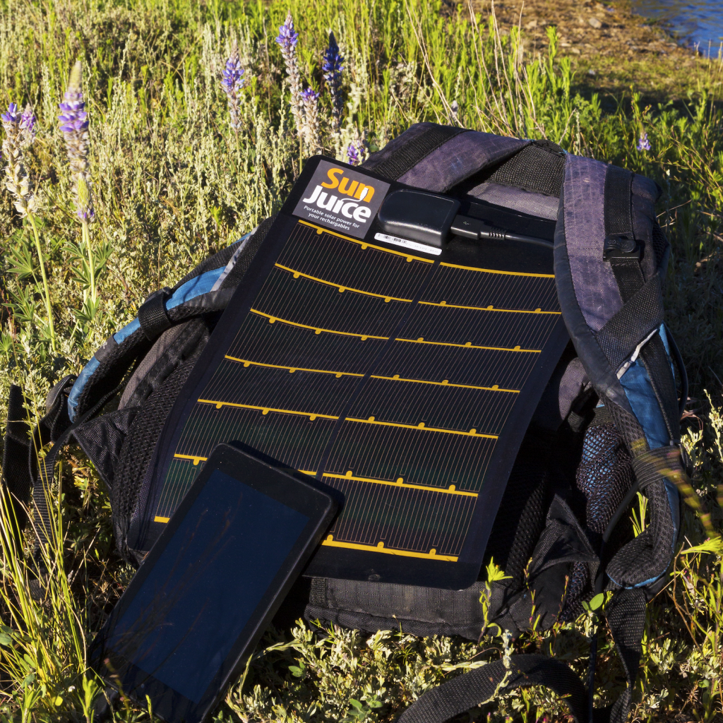 SunJuice Portable Solar Charger