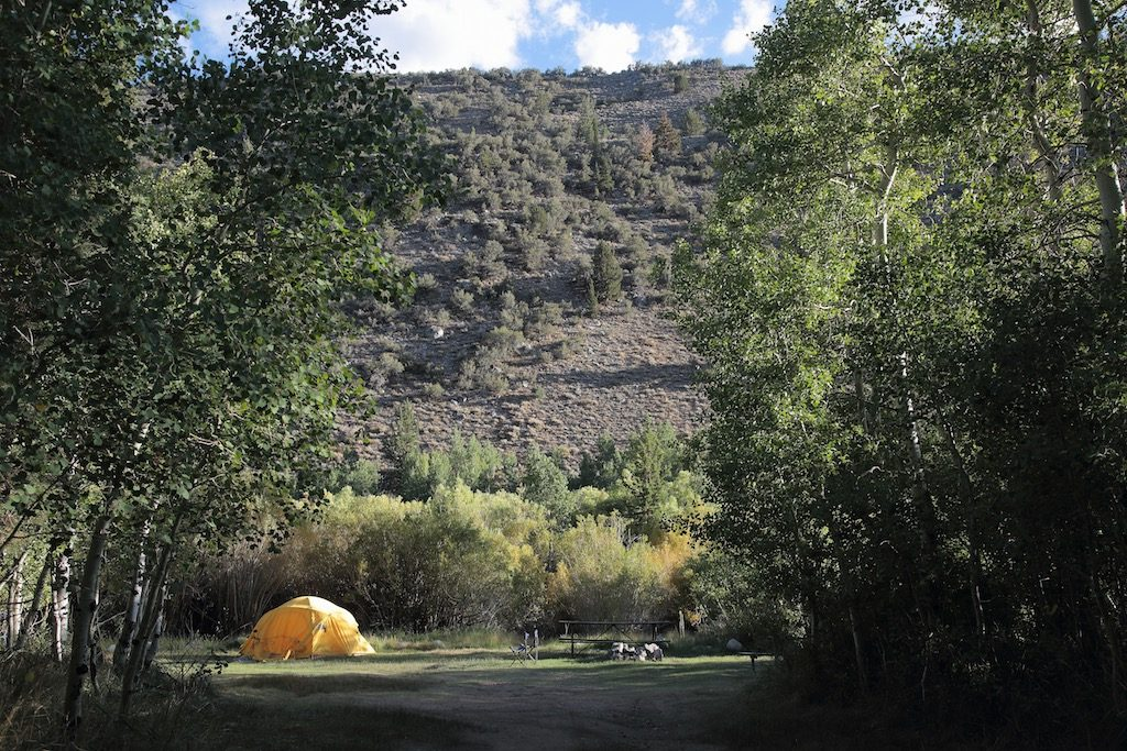 Lundy Canyon Campground Site 5