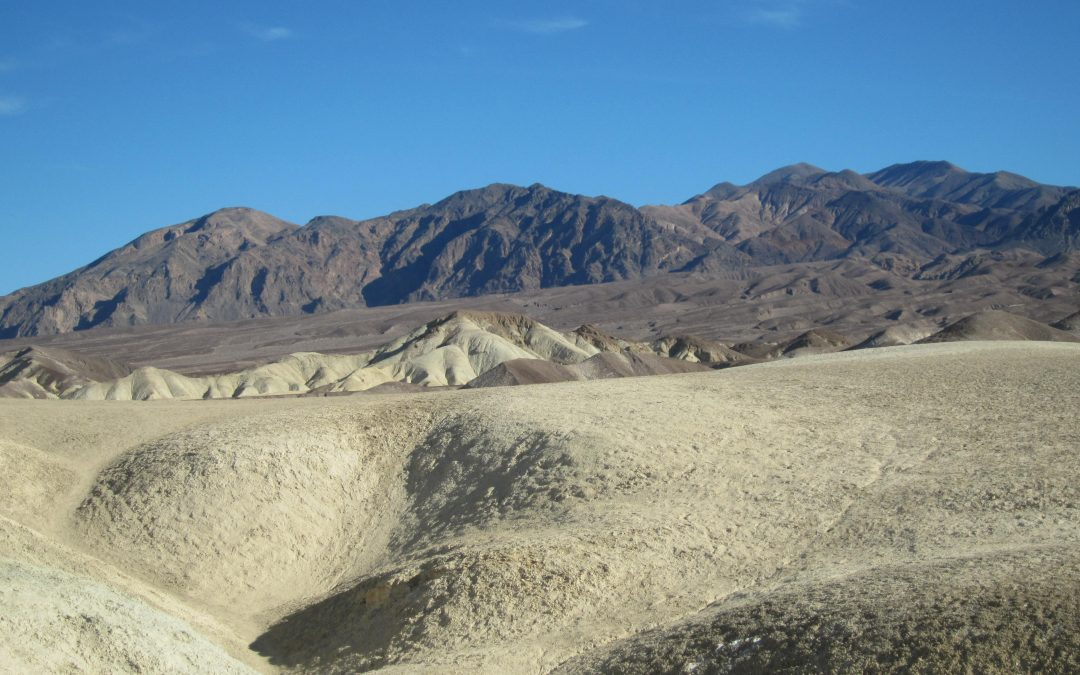 Death Valley Hiking: The Badlands Behind Texas Springs Campground